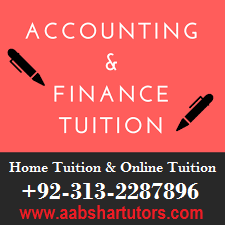 accounting tutor, finance tuition, home teacher and online tutoring